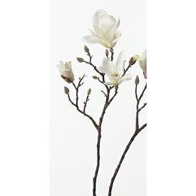 【造花】アスカ/マグノリア×3 つぼみ×7 クリームホワイト/A-32330-11【01】【01】【取寄】《 造花(アーティフィシャルフラワー) 造花 花材「ま行」 モクレン(木蓮)・マグノリア 》