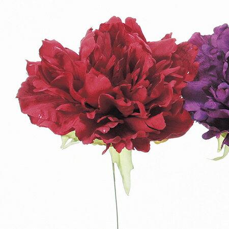 【造花】アスカ/A−32276 ピオニ−ピック #002 レッド/72-32276-2《 造花(アーティフィシャルフラワー) 造花 花材「さ行」 シャクヤク(芍薬)・ボタン(牡丹)・ピオニー 》
