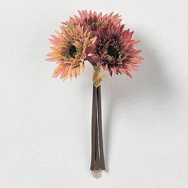 即日 【造花】アスカ/ガーベラバンチ (1束3本) #055 モ−ブ/A-32560-055《 造花(アーティフィシャルフラワー) 造花 花材「か行」 ガーベラ 》