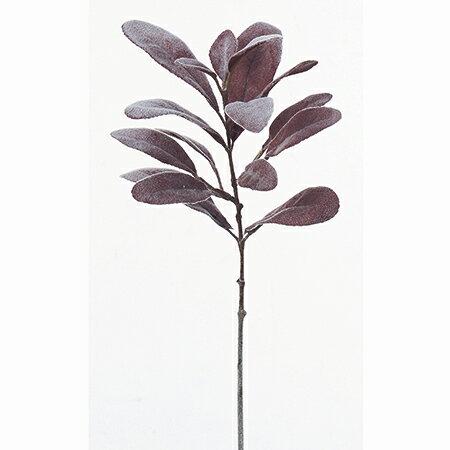【造花】アスカ/ラムズイヤー NO.002F フロスティレッド/A-41836-002F【01】【取寄】《 造花(アーティフィシャルフラワー) 造花葉物、フェイクグリーン ハーブ 》