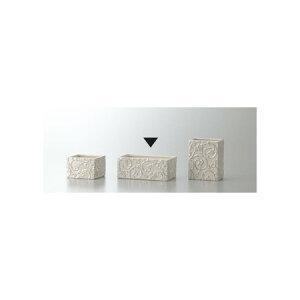 クレイ/petit arabesque PEARL WHITE/170-401-154【01】【取寄】花器、リース 花器・花瓶 陶器花器 手作り 材料