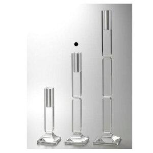 クレイ/CRYSTAL pillar 15□66H/710-716-000【01】【取寄】花器、リース 花スタンド、フラワースタンド ブーケスタンド 手作り 材料