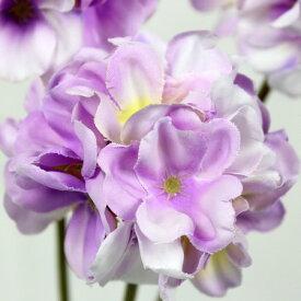 【造花】FIAN/プリムラピック(3本) LAV/FPF0004-LAV【01】【取寄】《 造花(アーティフィシャルフラワー) 造花 花材「た行」 ダリア 》