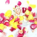 【生花】フラワーシャワー用ローズ(色おまかせ)  ※商品説明をお読み下さい。[30本]