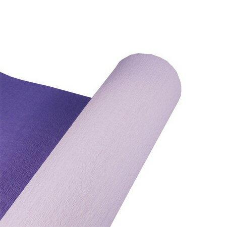 HOSHINO/デュオクレープ No.9(ライラック/アイリス) 75x20/336639【01】【取寄】《 ラッピング用品 ・梱包資材 ラッピングペーパー(包装紙) 包装紙(ロール) 》