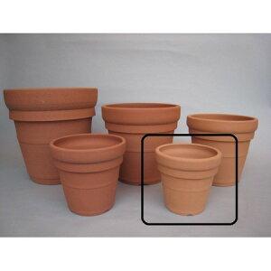 素焼き鉢 メキシカン 65 赤焼/4120001【01】【取寄】