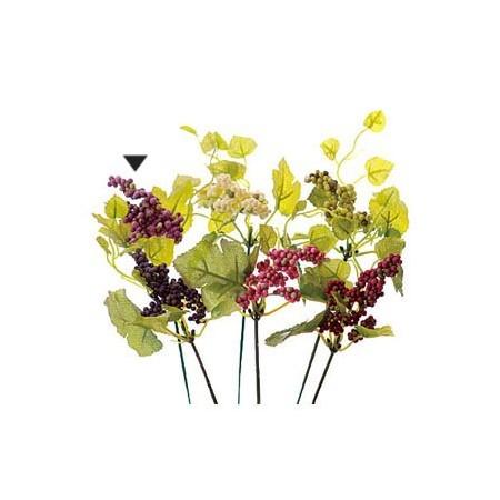 即日 【造花】VFG−5121ベリーピック PU/GR/65-512112-0《 造花(アーティフィシャルフラワー) 造花実物、フェイクフルーツ ベリー 》