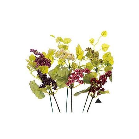 即日 【造花】VFG−5121ベリーピック RE/GR/65-512150-0《 造花(アーティフィシャルフラワー) 造花実物、フェイクフルーツ ベリー 》