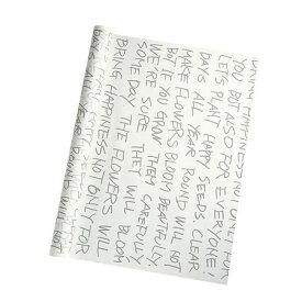 PPハミングワード #01 アースグレー/160-4074-1【01】【取寄】《 ラッピング用品 ・梱包資材 ラッピングペーパー(包装紙) セロハン・OPPロール 》