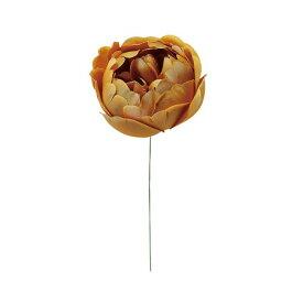 【造花】フリルピオニー (SSフリルL) ヤマブキ/61-34323-36|芍薬・牡丹【01】【取寄】《 造花(アーティフィシャルフラワー) 造花 花材「さ行」 シャクヤク(芍薬)・ボタン(牡丹)・ピオニー 》