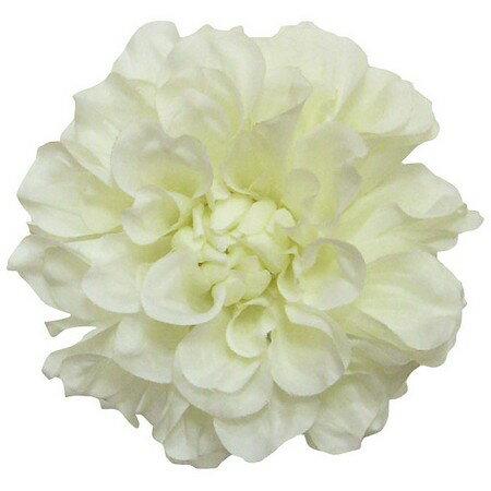 即日 【造花】S−5003 フランシスダリア オフホワイト/66-40912-0《 造花(アーティフィシャルフラワー) 造花 花材「た行」 ダリア 》