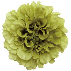 即日 【造花】S−5003 フランシスダリア アンティークグリーン/66-41100-0《 造花(アーティフィシャルフラワー) 造花 花材「た行」 ダリア 》