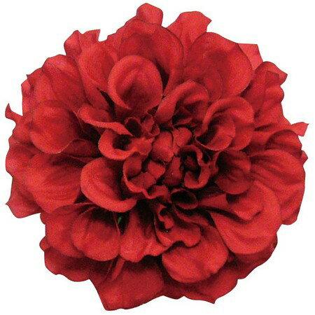 即日 【造花】S−5003 フランシスダリア レッド/66-41117-0《 造花(アーティフィシャルフラワー) 造花 花材「た行」 ダリア 》