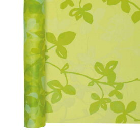 青山リボン/エコリーフ 750X15m NO.003/30-8521-3【01】【取寄】《 ラッピング用品 ・梱包資材 ラッピングペーパー(包装紙) セロハン・OPPロール 》