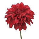 即日★【造花】P4657 ダリアピック #003 レッド/66-293945-0【00】《 造花 ダリア》