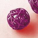 カラフルラタンボール D−76S 24コイリ ダークパープル/165-4779-75【01】【取寄】