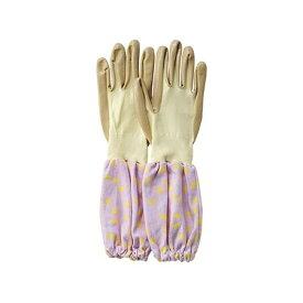 paseo/ガーデングローブ(アームカバー付き)/EB-45PR【01】【取寄】[6個] ガーデニング用品 ファッション 手袋・グローブ