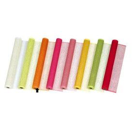 東京リボン/ネイティブ・ガーデン65C×15 ネーブルオレン/36-75700-37【01】【取寄】《 ラッピング用品 ・梱包資材 ラッピングペーパー(包装紙) 包装紙(ロール) 》