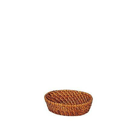 てづくり/ラタンバスケット小判小/13-187【01】【取寄】《 雑貨 キッチン用品・調理器具 カトラリー 》