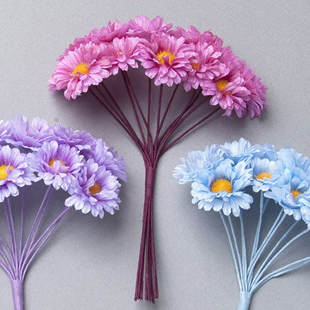 【造花】ミレニアムアート/プチアスター フランボワーズ 12個/AFC18-22【01】【01】【取寄】《 造花(アーティフィシャルフラワー) 造花 花材「あ行」 アスター 》