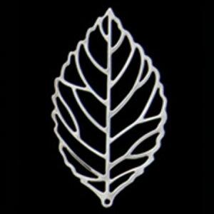 ミレニアムアート/アレンジパーツ シルバーリーフ大 シルバー 5個/AEP101-21【01】【取寄】花資材・道具 ブローチ・コサージュピン、金具 手作り 材料