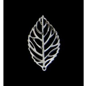 ミレニアムアート/アレンジパーツ シルバーリーフ小 シルバー 10個/AEP101-25【01】【取寄】花資材・道具 ブローチ・コサージュピン、金具 手作り 材料