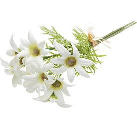 即日 【造花】YDM/フランネルフラワーバンチ ホワイト/FLP3001-W《 造花(アーティフィシャルフラワー) 造花 花材「は行」 その他「は行」造花花材 》