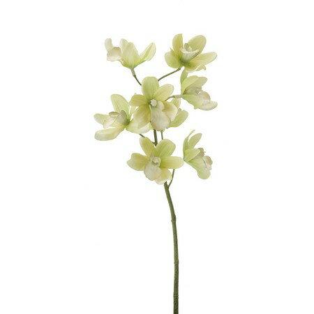 即日 【造花】YDM/シンビジューム/FA6646-GR《 造花(アーティフィシャルフラワー) 造花 花材「さ行」 シンビジューム 》