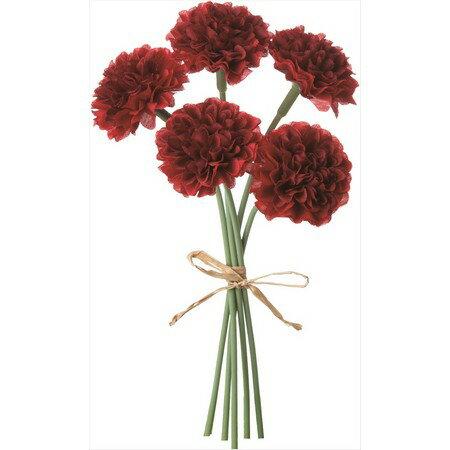 即日 【造花】YDM/ミニピンポンマムピック/FB2346-WI《 造花(アーティフィシャルフラワー) 造花 花材「か行」 キク(菊)・ピンポンマム 》