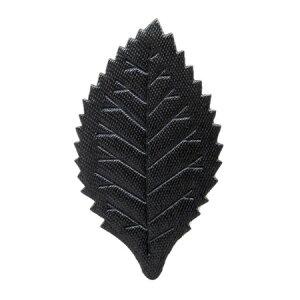 【プリザーブド】フロールエバー/デザインリーフ 10個 ブラック/FLAC30-01【01】【取寄】花資材・道具 ブローチ・コサージュピン、金具 手作り 材料