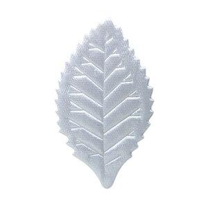 【プリザーブド】フロールエバー/デザインリーフ 10個 ホワイト/FLAC30-07【01】【01】【取寄】花資材・道具 ブローチ・コサージュピン、金具 手作り 材料