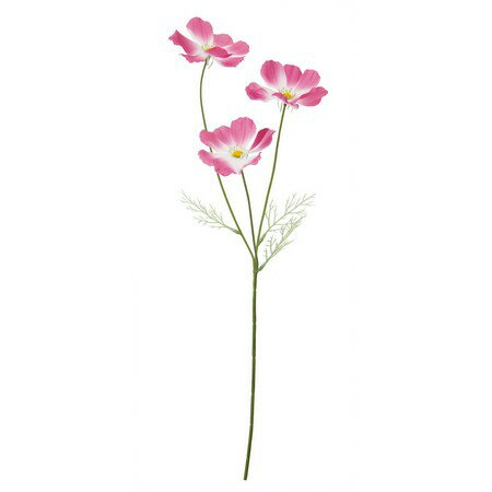 大特価 【造花】YDM/サテンコスモスX3/FS9919-LAV【01】【取寄】《 造花(アーティフィシャルフラワー) 造花 花材「か行」 コスモス 》