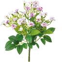 特価◎即日★【造花】YDM/ミニフリルローズブッシュ バイオレット/FB2419-VIO【00】《 造花 バラ(ローズ)》