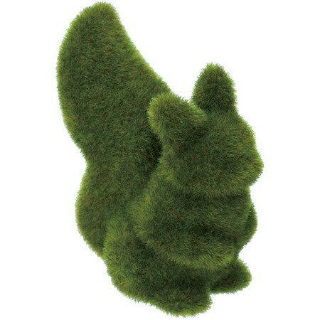 【造花】YDM/モスアニマルリスL グリーン/GLA1282-GR【01】【取寄】《 ガーデニング用品 雑貨・置物・オーナメント 置物・オーナメント 》