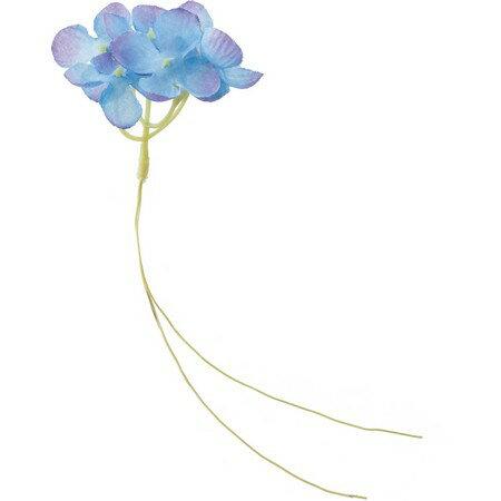 即日 【造花】YDM/アジサイワイヤー/FS8199-BLU《 造花(アーティフィシャルフラワー) 造花 花材「あ行」 あじさい(紫陽花) 》