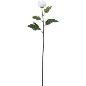 【造花】YDM/シングルマムバット ホワイト/FF2829-W【01】【01】【取寄】《 造花(アーティフィシャルフラワー) 造花 花材「か行」 キク(菊)・ピンポンマム 》