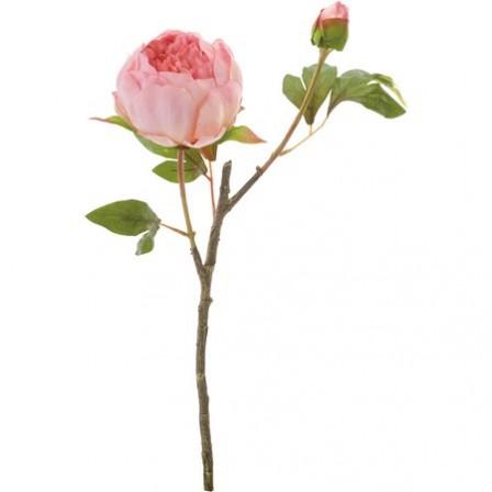 即日 【造花】YDM/ボタンX2 モーブ/FA6672-MAV《 造花(アーティフィシャルフラワー) 造花 花材「さ行」 シャクヤク(芍薬)・ボタン(牡丹)・ピオニー 》