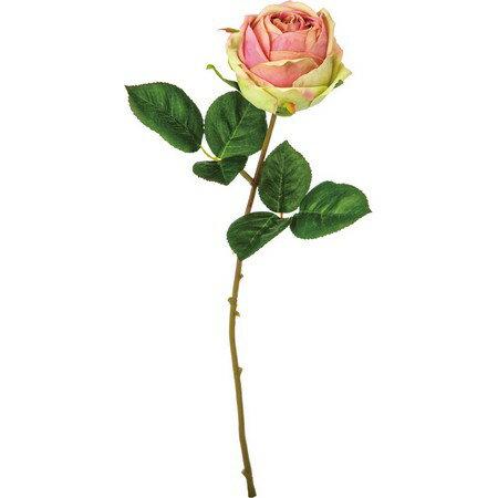【造花】YDM/ローズマリーアントワネット グリーンピンク/FA6906-G/P|造花 バラ【01】【取寄】《 造花(アーティフィシャルフラワー) 造花 花材「は行」 バラ 》
