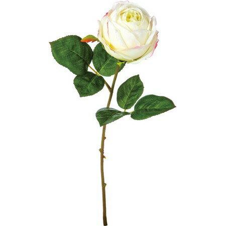 【造花】YDM/ローズマリーアントワネット ホワイト/FA6906-W|造花 バラ【01】【01】【取寄】《 造花(アーティフィシャルフラワー) 造花 花材「は行」 バラ 》
