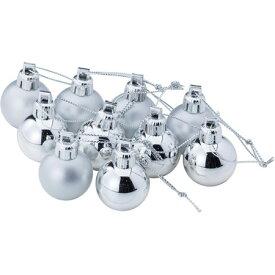 20mmボール10P SI/COA659【01】【01】【取寄】《 店舗ディスプレイ クリスマス飾り ボールオーナメント 》