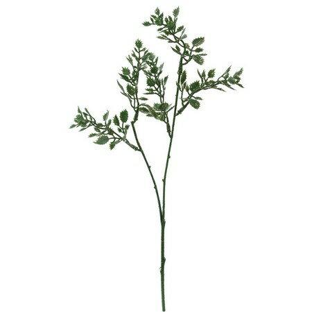 【造花】YDM/シャイニーミニローズリーフショート グリーン/FS6877-GR【01】【01】【取寄】《 造花(アーティフィシャルフラワー) 造花枝物 その他の造花枝物 》