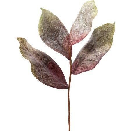 即日 【造花】YDM/リッチマグノリアリーフ シルバーグリーン/FG4640-S/G《 造花(アーティフィシャルフラワー) 造花 花材「ま行」 モクレン(木蓮)・マグノリア 》
