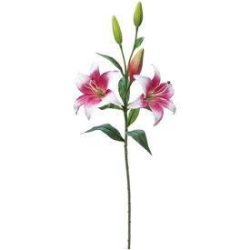 【造花】YDM/グロスビーリリースプレー ホワイトブルー/FA6982-W/B【01】【01】【取寄】《 造花(アーティフィシャルフラワー) 造花 花材「か行」 カサブランカ 》
