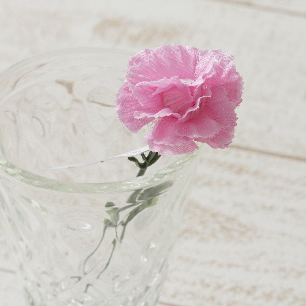 即日 【造花】YDM/カーネーションピックS ピンク/FS7799-P《 造花(アーティフィシャルフラワー) 造花 花材「か行」 カーネーション 》