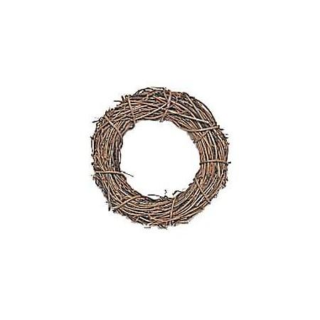 即日 創元舎/ひげづるリース 丸 13cm/607-005《 花器、リース リース土台 つる 》