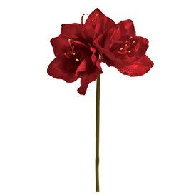 【造花】MAGIQ(東京堂)/カレンアマリリス #28 NEW.RD /FM000798-028【01】【取寄】[12本]《 造花(アーティフィシャルフラワー) 造花 花材「あ行」 アマリリス 》