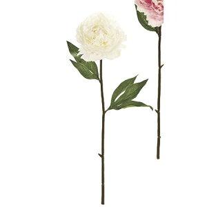 【造花】MAGIQ(東京堂)/ルーナピオニー #37 クリーム/FM009677-037 芍薬・牡丹【01】【取寄】造花(アーティフィシャルフラワー) 造花 花材「さ行」 シャクヤク(芍薬)・ボタン(牡丹)・ピオ