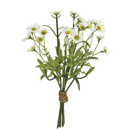 即日 【造花】MAGIQ(東京堂)/プリムカモミールバンドル WHITE/FM008353《 造花(アーティフィシャルフラワー) 造花葉物、フェイクグリーン ハーブ 》