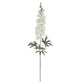 【造花】MAGIQ(東京堂)/ブルームデルフィニウム クリームホワイト/FM003338-001【01】【取寄】《 造花(アーティフィシャルフラワー) 造花 花材「た行」 デルフィニューム 》