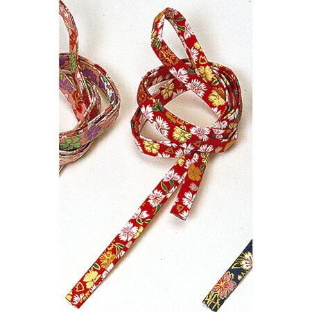 和紙紐 赤柄 6本/JH001124-003【01】【取寄】《 花資材・道具 アクセサリー 和風アクセサリー 》
